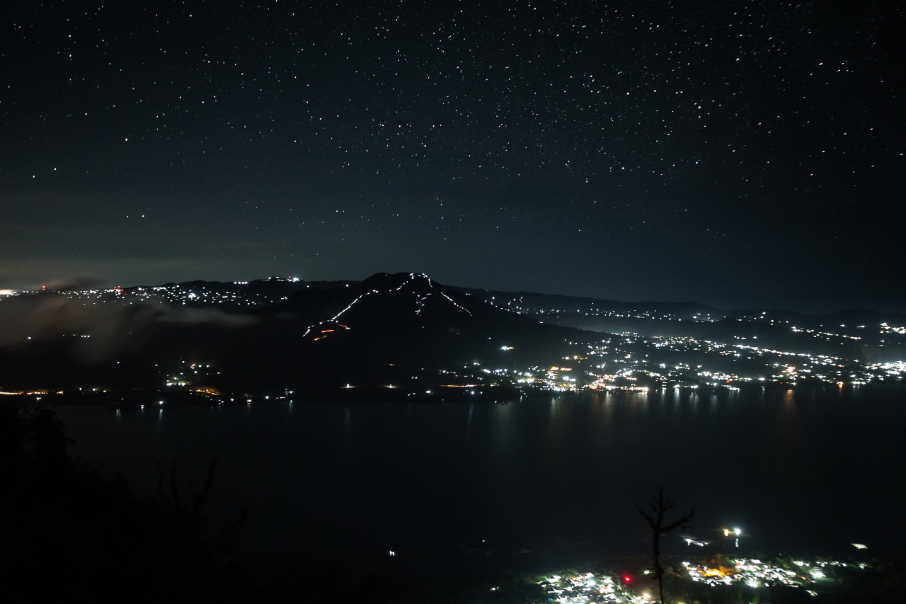 batur lake mountain night photographer ionescu vlad