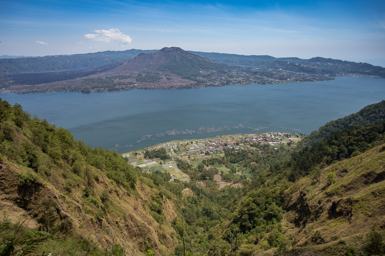 Bali Abang Batur lake mountain ionescu vlad