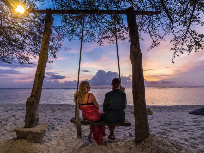 Indonesia Trawangan island beach sunset photographer ionescu vlad