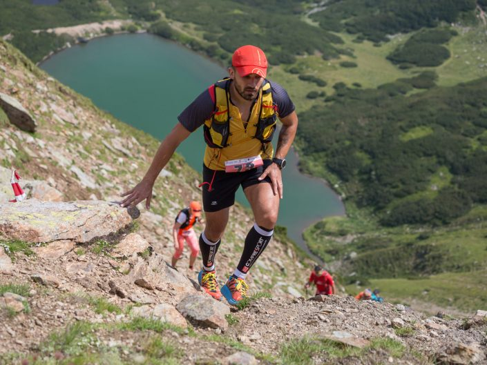 Fotograf competitii sportive Ionescu Vlad Maraton Cindrel in Alergare