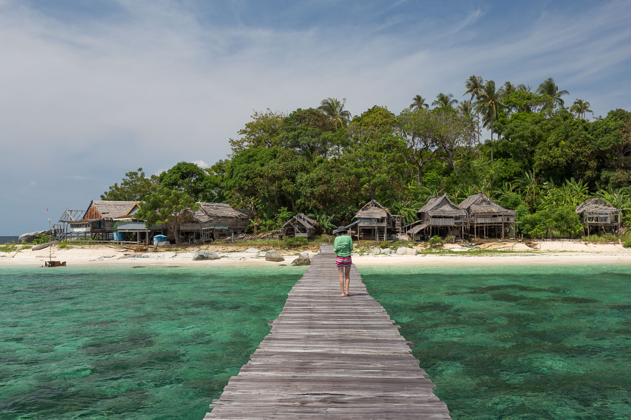 island bridge paradise sea ocean ionescu vlad