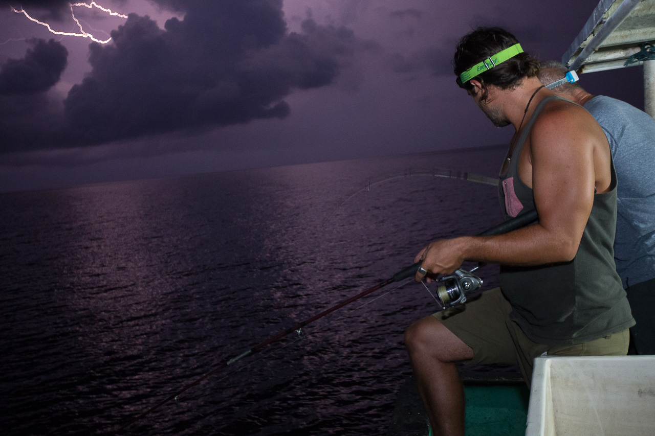 sea fishing thunderstorm indonesia photographer ionescu vlad