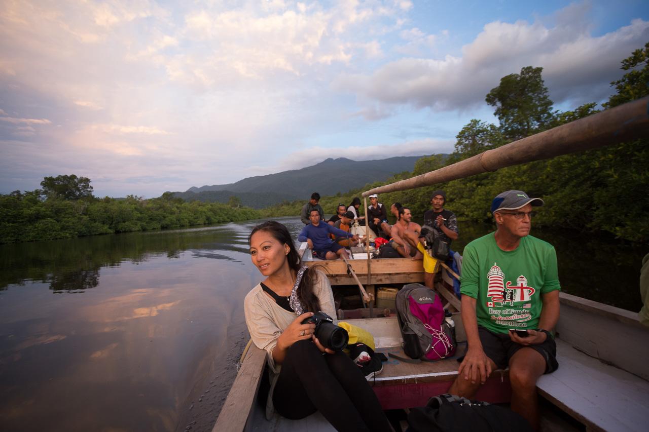 sunset river boat borneo photographer ionescu vlad