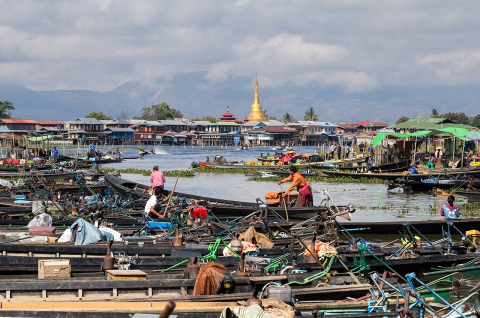Myanmar. Inle Lake and surroundings
